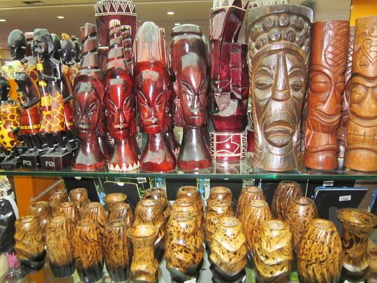 dřevěné suvenýry