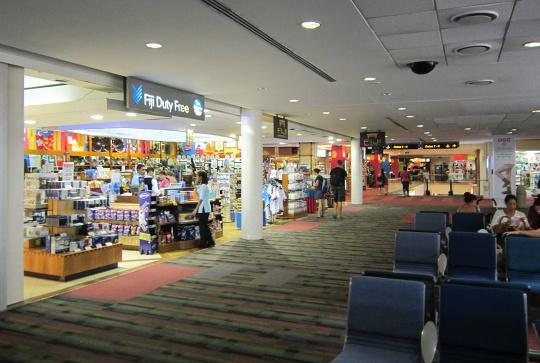 obchody na letišti