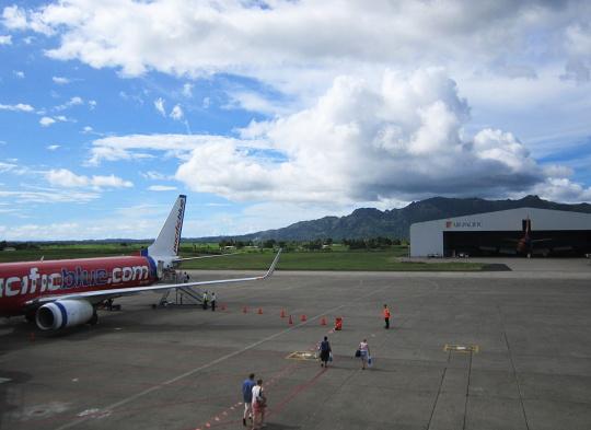 letištní plocha
