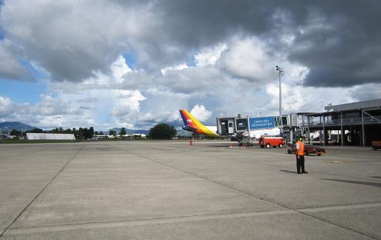 letiště na Fidži