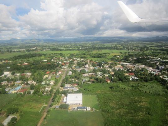Fidži z výšky