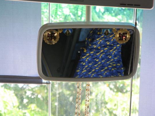 výzdoba autobusu