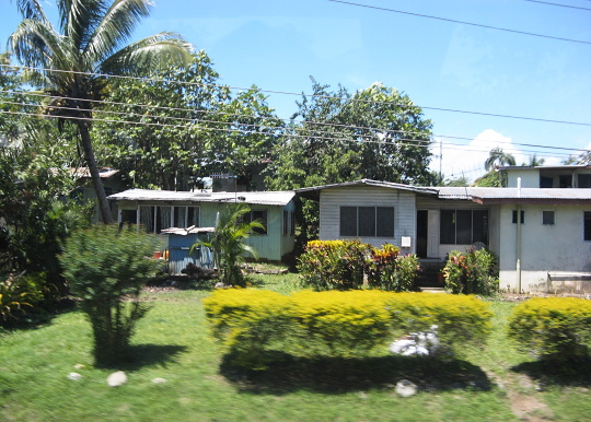 domek na Fidži