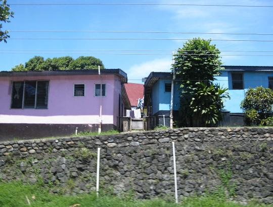 domky na Fiji