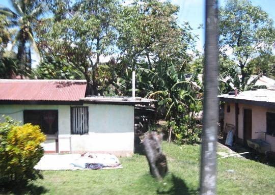 bydlení domorodců na Fiji