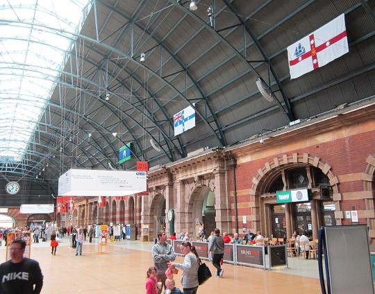 nádraží v Sydney